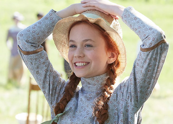 anne from anne of green gables on pbs