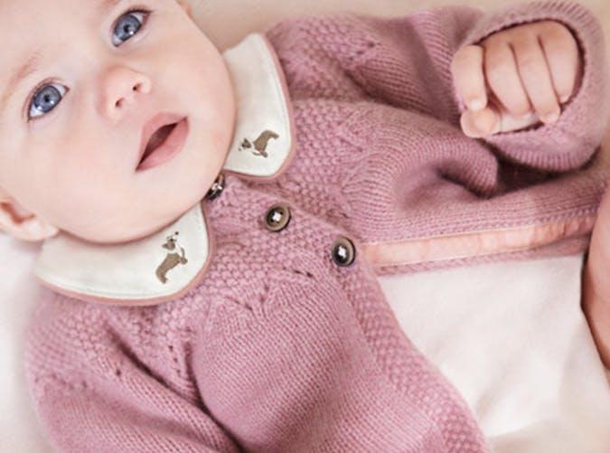 baby royal pink sweater
