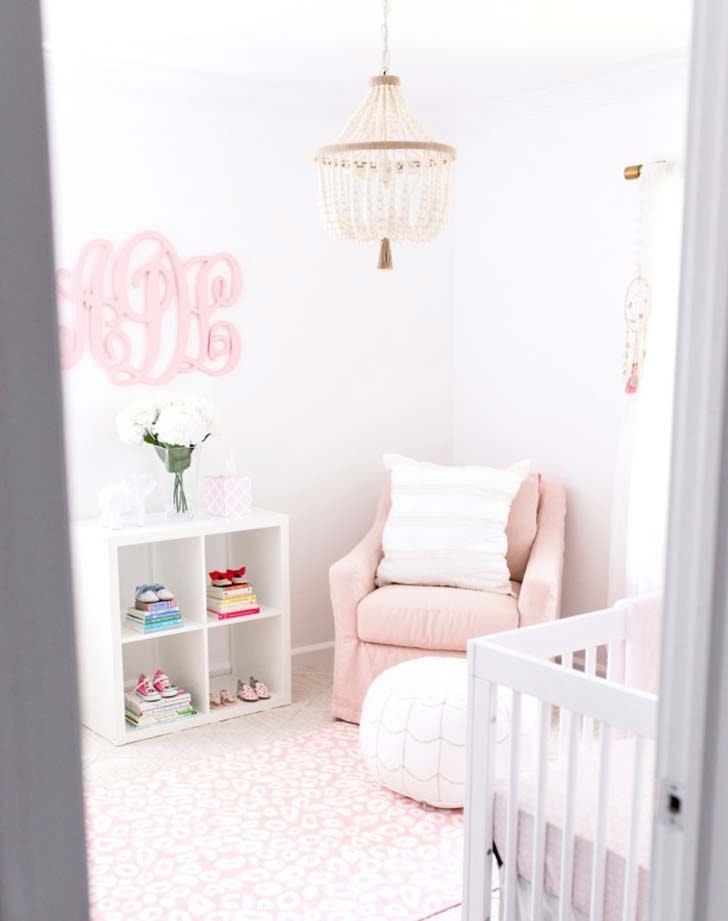 Baby Nurseries 2019 Beaded Chandeliers. The boho baby nursery ...