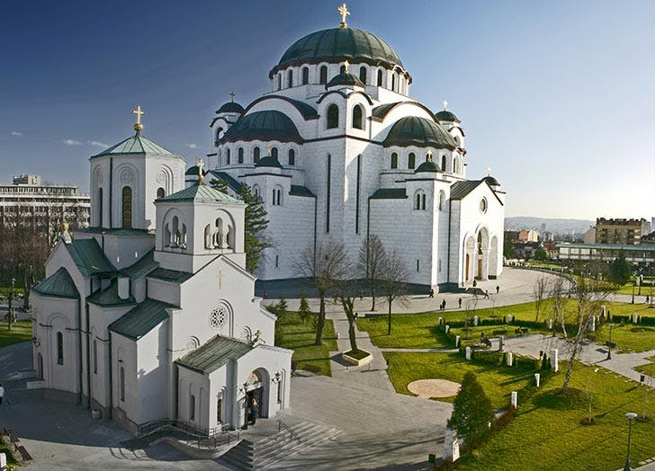 belgrade serbia temple