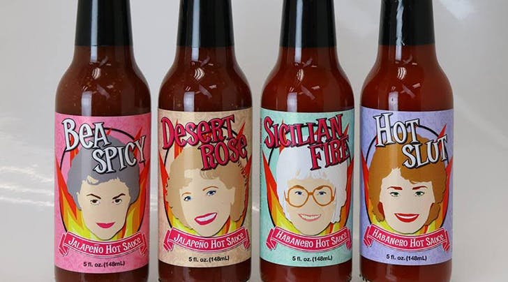 Theres Now a Line of 'Golden Girls' Hot Sauces and the Flavors Are Hilarious