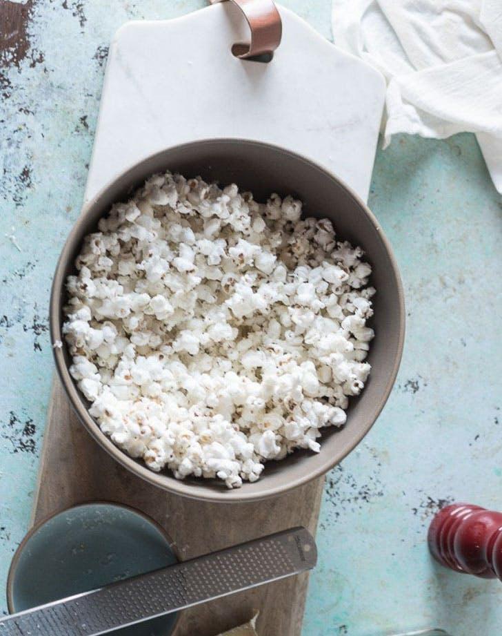 cacio e pepe popcorn recipe