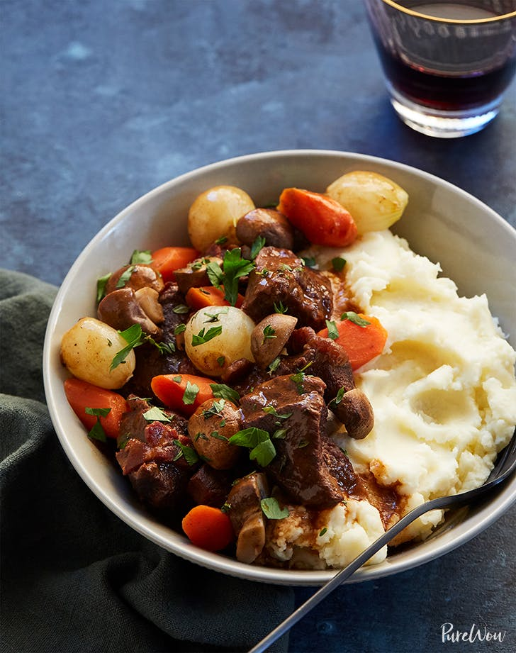 Cheater's Slow-Cooker Beef Bourguignon