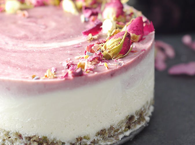 cherry coconut cauliflower ice cream cake recipe