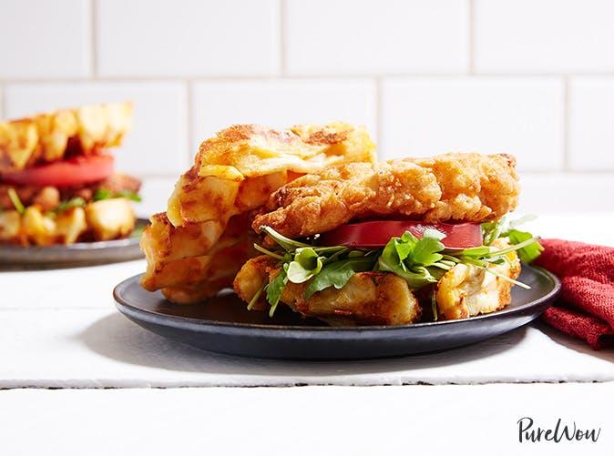 chicken waffle sandwiches recipe