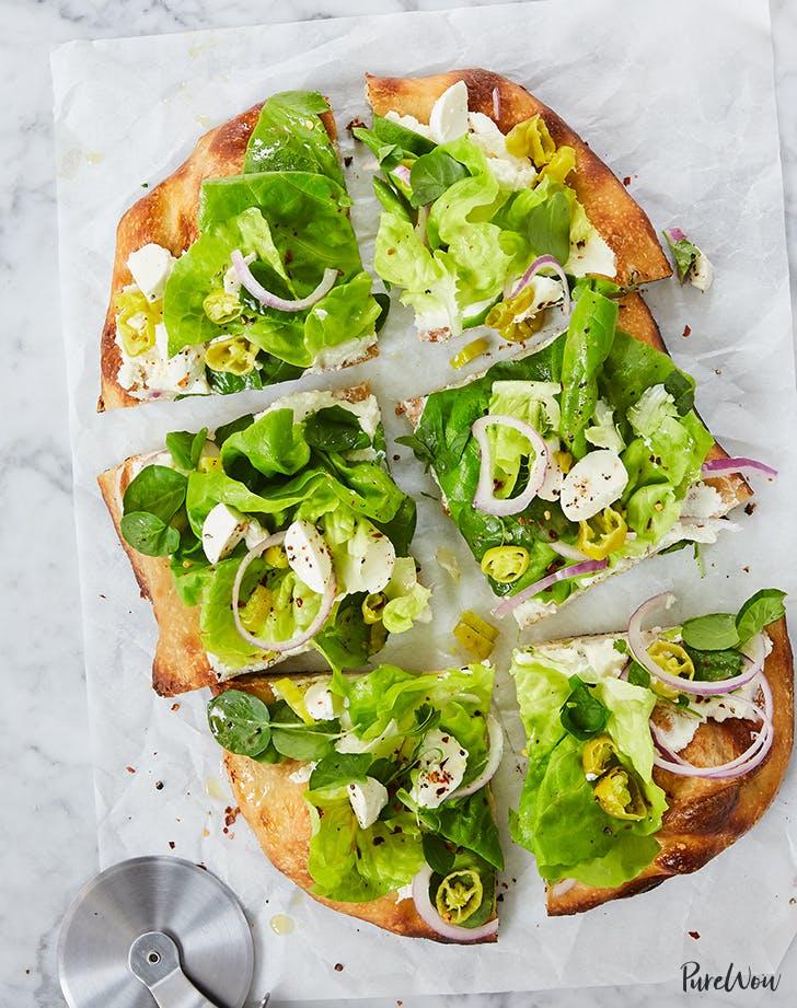 Chopped Italian Salad Pizza