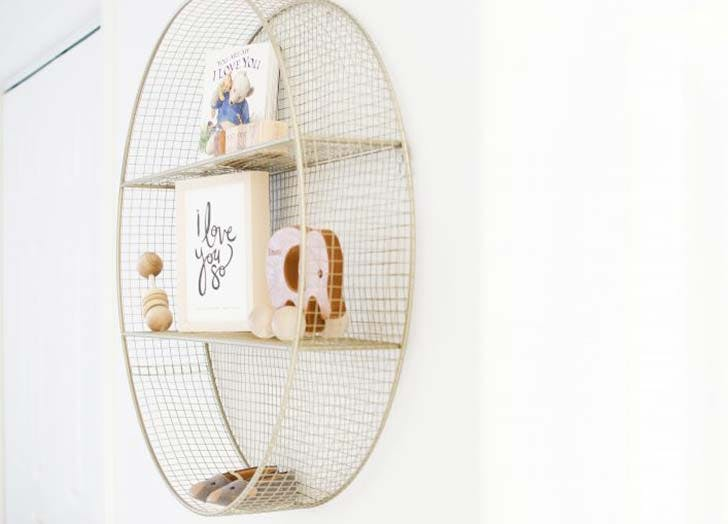 circle shelf nursery