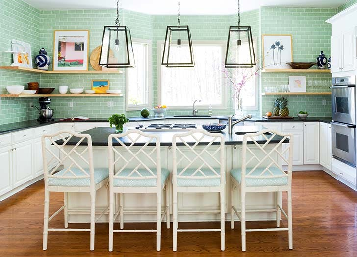 colorful kitchen trend