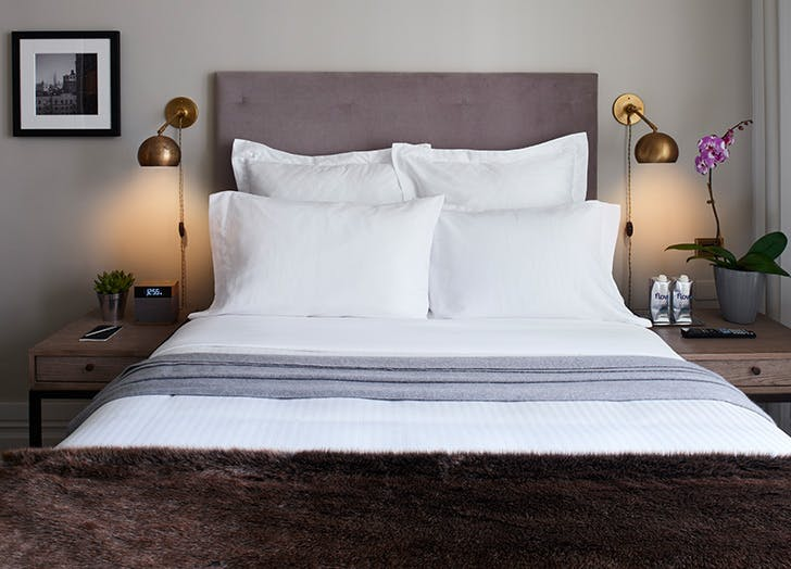 cozy bed at HGU new york
