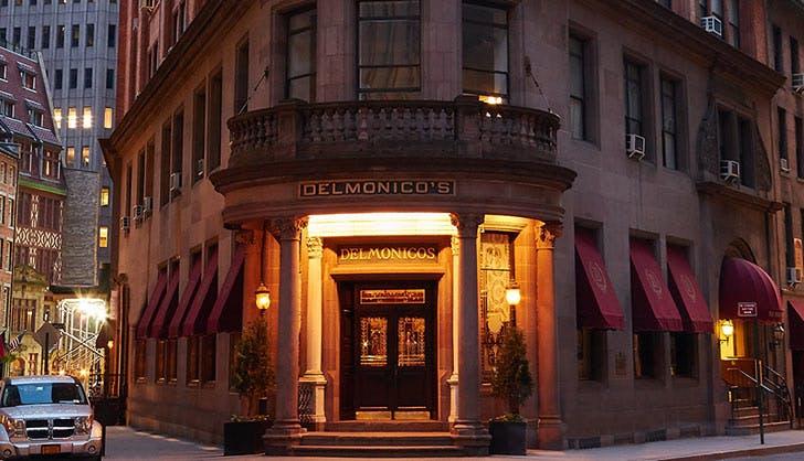 delmonico s restaurant nyc