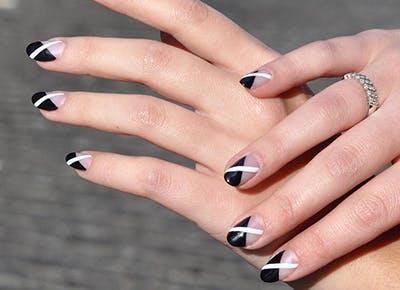 diagonal nail art 400