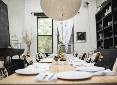 dinner party table 400