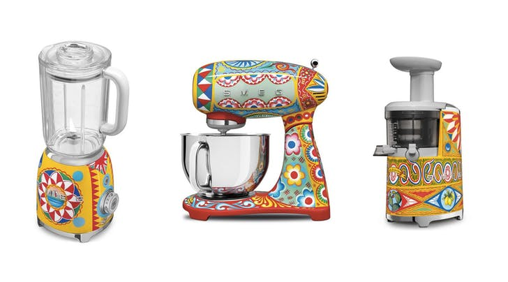 Dolce & Gabbana Now Makes Kitchen Appliances Because Why the Hell Not?