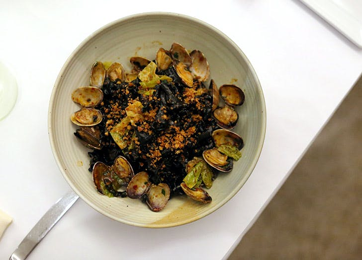 eataly manzo squid ink pasta
