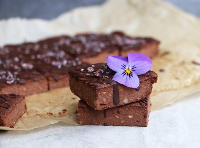 gluten free vegan chocolate cauliflower bars recipe