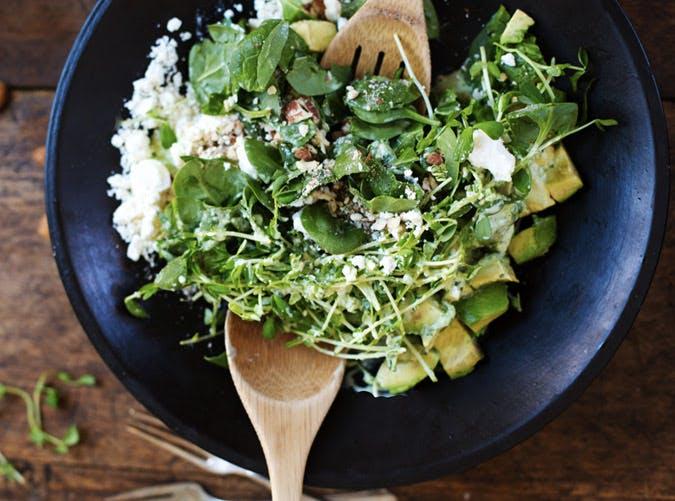green goddess detox salad recipe