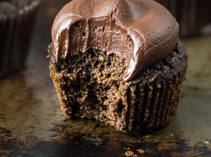 healthier triple chocolate cupcakes recipe
