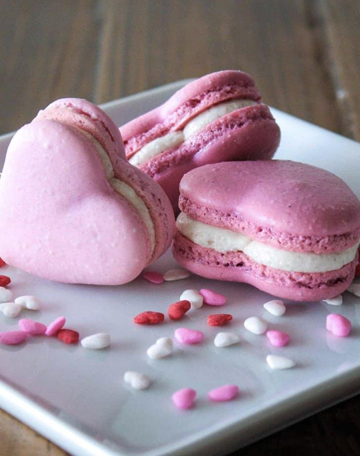 heart shaped macaron recipe