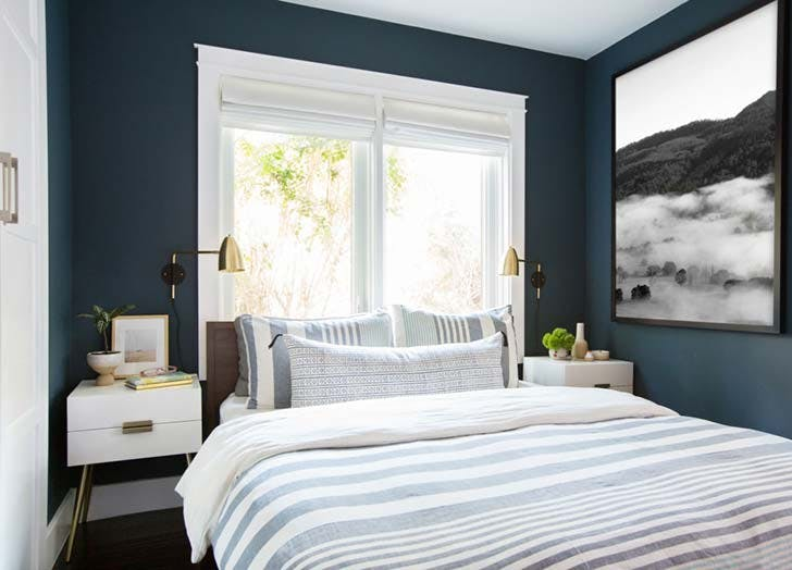 indigobedroom paint
