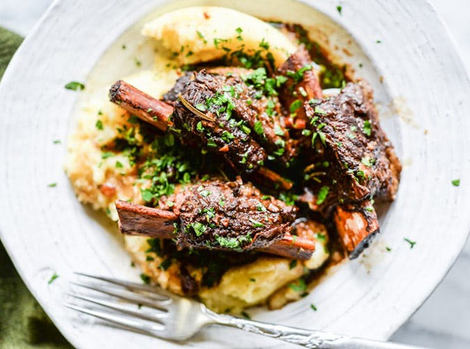 instant pot paleo rustic short ribs recipe