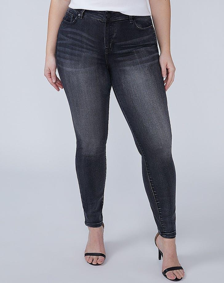 lane bryant petite plus size jeans