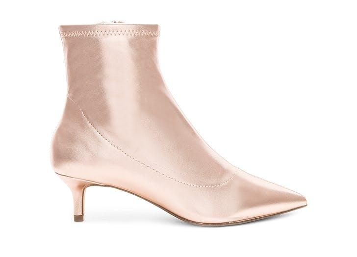light pink free people kitten heel boots