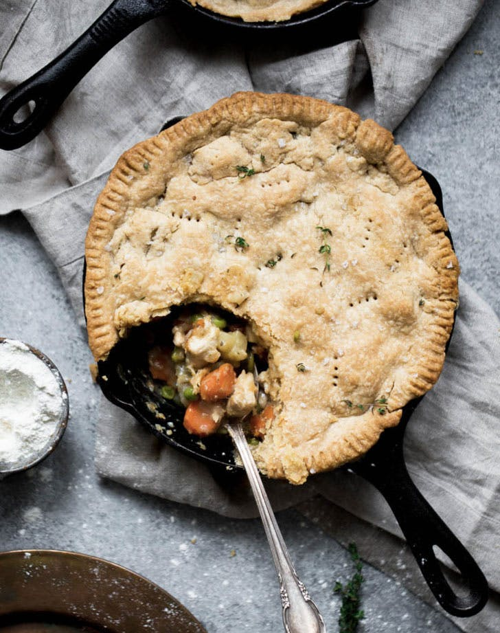 lightened up chicken pot pie recipe