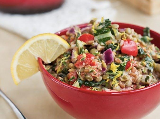 lightened up protein power goddess bowl recipe