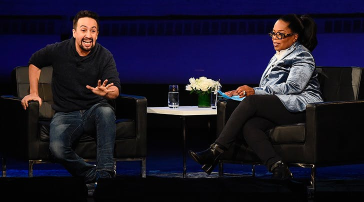 Only for Oprah: Lin-Manuel Miranda Dishes on All Things Baby Francisco