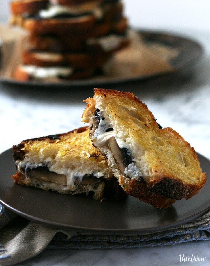 mushroom melt sandwich recipe