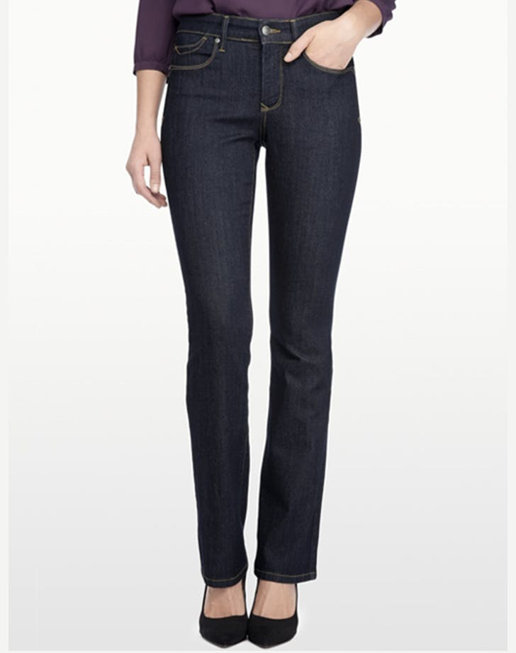 nydj petite mini bootcut jeans