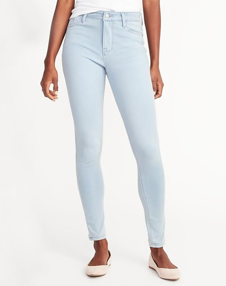 old navy petite high rise jeans