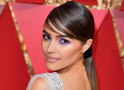 olivia culpo purple smoky eye oscars 400
