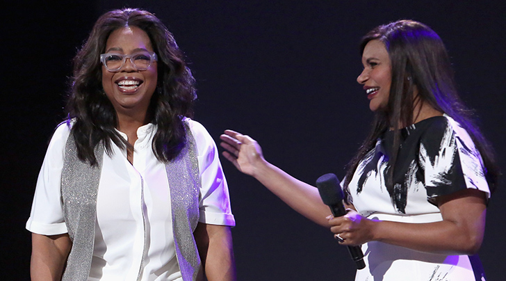Of Course Oprah Winfrey Got Mindy Kaling The Best Baby Gift Ever