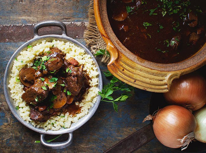 paleo instant pot beef bourguignon stew recipe