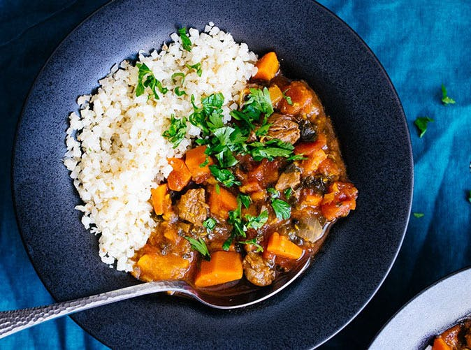 paleo instant pot moroccan lamb stew recipe