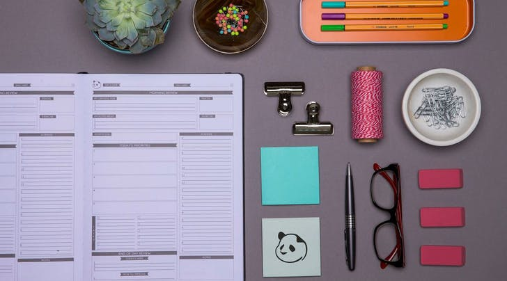 The Best-Selling Panda Planner Is Like Bullet Journaling for Dummies