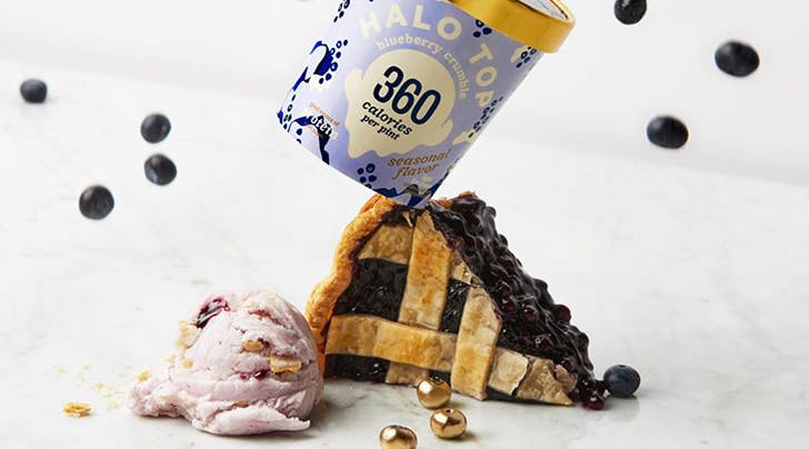 Halo Tops Newest Flavor Tastes Like Blueberry Pie and Were Not Sprinting to the Grocery Store, You Are