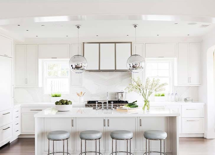 7 top kitchen design trends for 2018 purewow for Kitchen design trends 2018