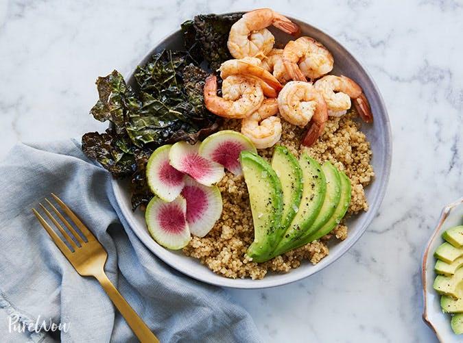 quinoa avocado goddess bowl recipe