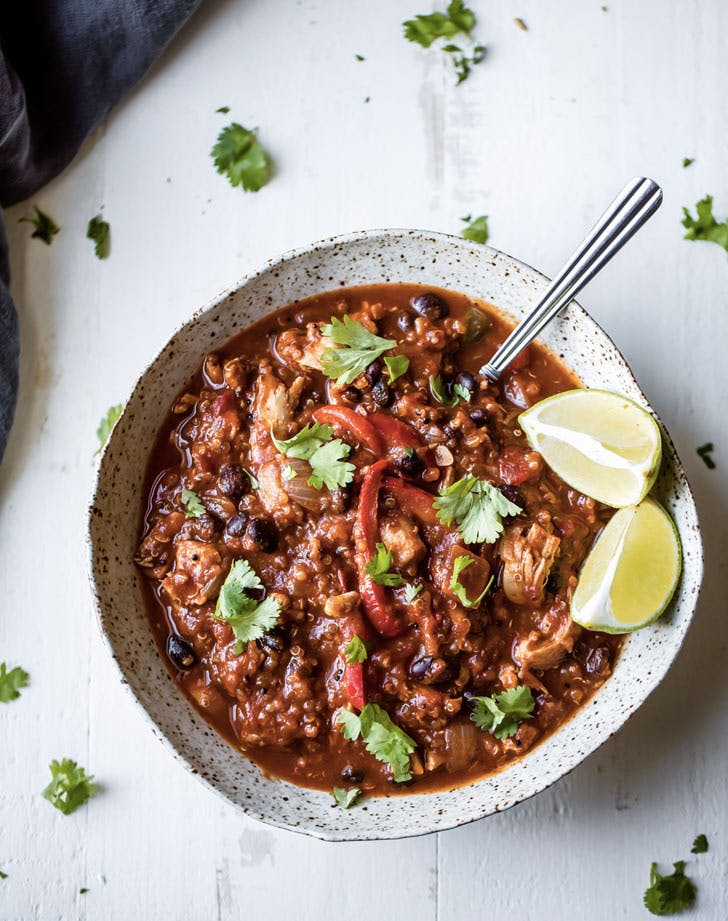 quinoa pumpkin chili recipe