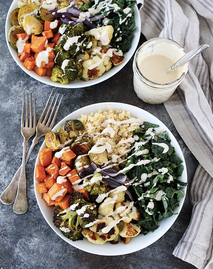 roasted vegetable quinoa bowl recipe