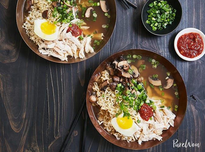 rotisserie chicken ramen recipe
