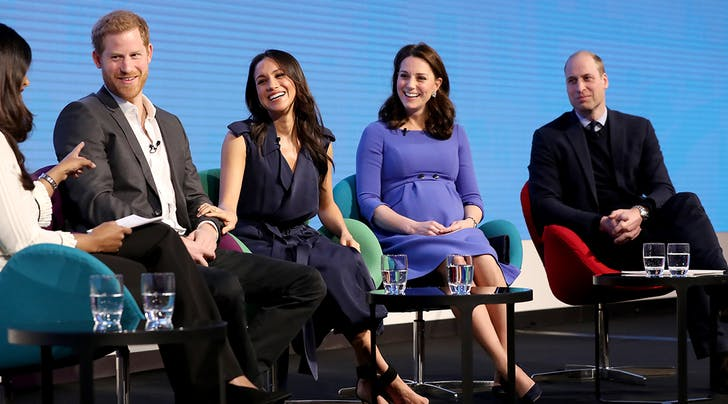 The Royal Gangs All Here: Will, Kate, Harry and Meghan Make First Royal Appearance Together