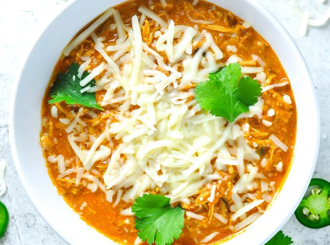 shredded chicken chili SS