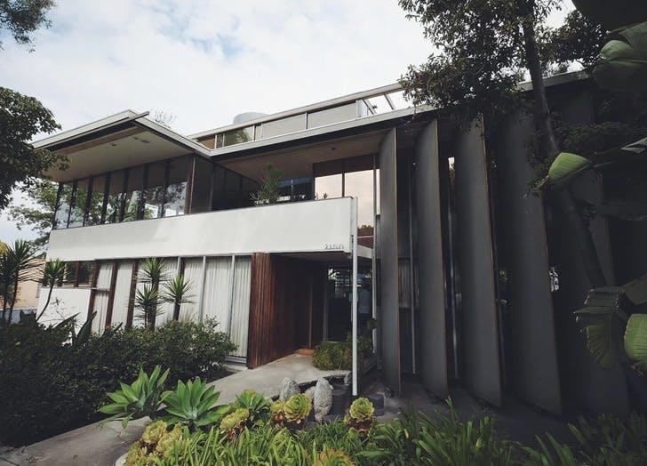 silverlake boulevard modernist house