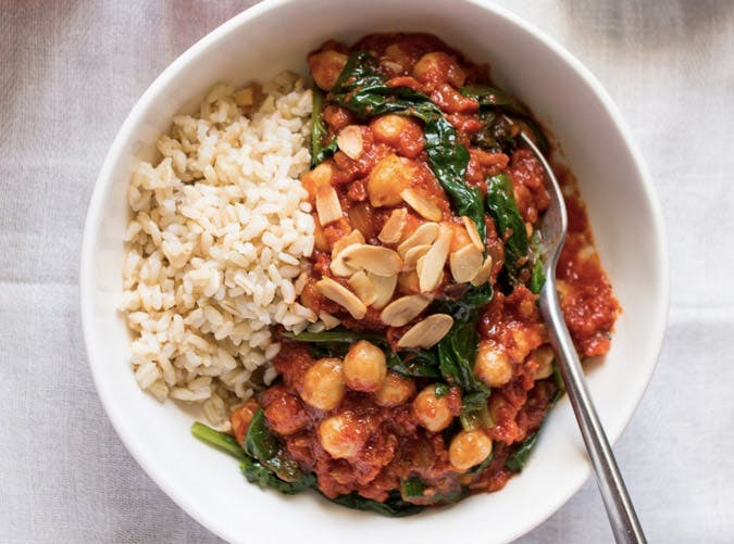 spanish chickpea and spinach stew recipe