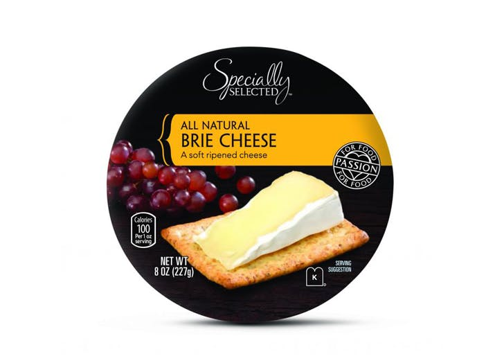 specially selected brie cheese