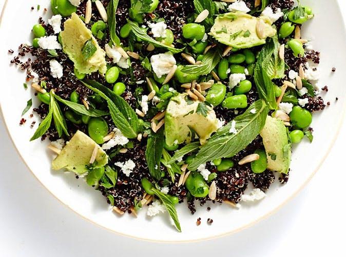 spring quinoa salad recipe