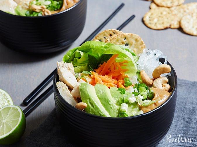 spring roll bowls recipe